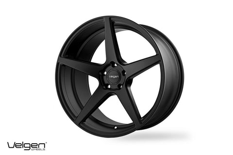Velgen Wheels Classic 5 Satin Black 20s / 22s | Dodge Charger/Challenger