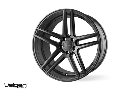 Velgen Wheels Split 5 Satin Gunmetal 20s | Dodge Charger/Challenger