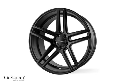 Velgen Wheels VMBS5 (Split 5) Satin Black 22x10.5 et35 | Jeep Grand Cherokee SRT/Trackhawk