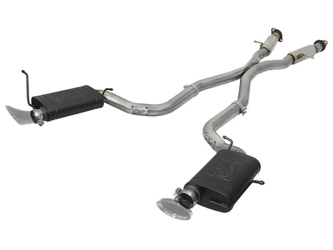 aFe MACH Force 304 SS Cat-Back Exhaust w/Resonators Jeep GC SRT8 (12-18) / Trackhawk