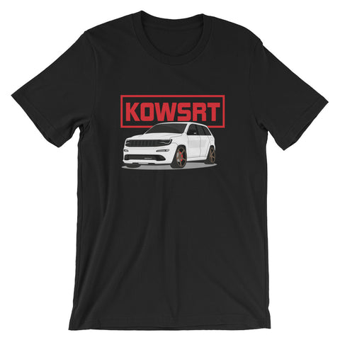 KOWSRT Short-Sleeve Unisex T-Shirt Red Logo