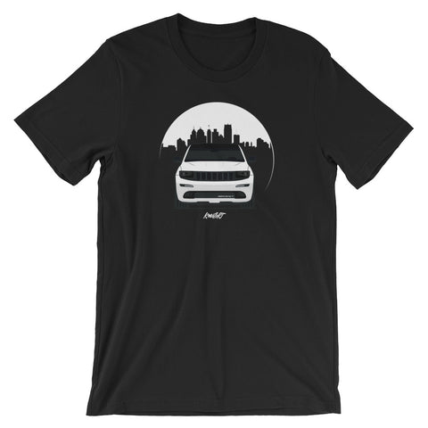 KOWSRT CITY (DAY-TIME SKY) SHORT-SLEEVE UNISEX T-SHIRT