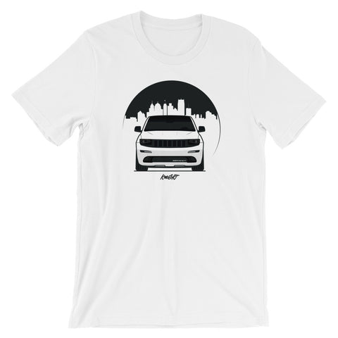 KOWSRT CITY (NIGHT SKY) SHORT-SLEEVE UNISEX T-SHIRT