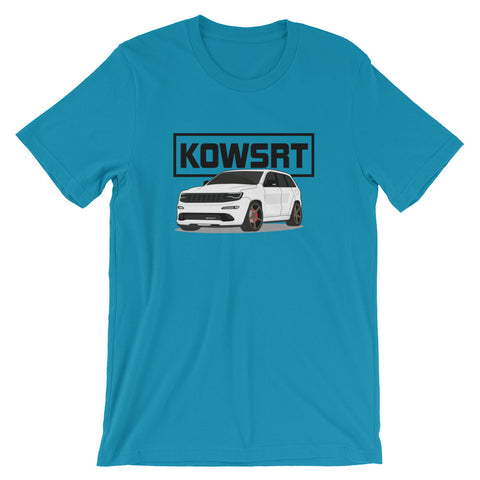 KOWSRT Short-Sleeve Unisex T-Shirt Black Logo
