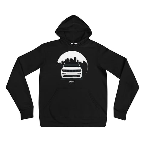 KOWSRT CITY (DAY-TIME SKY) UNISEX HOODIE