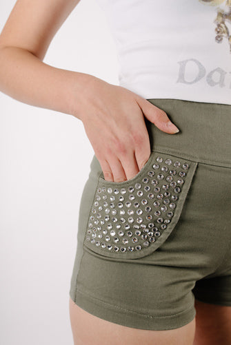 La Jennifer Bling Shorts