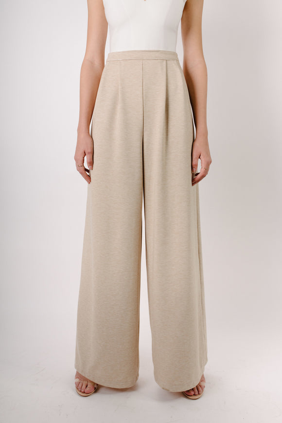 Nellie wide leg pleated pant