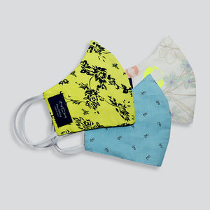 Pack of 3 - Printed Face Mask