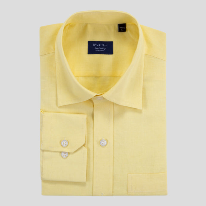 LEMON YELLOW (COTTON LINEN)