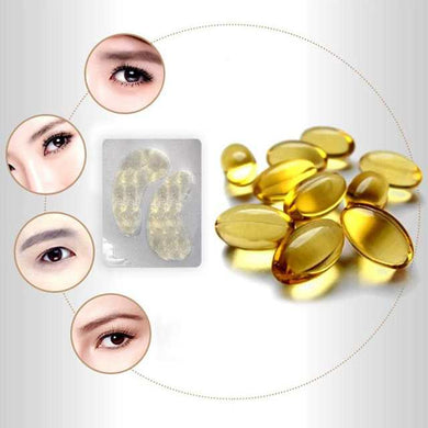 1/3/5/10pair Moisturizing Anti-aging Gold Collagen Eye Mask Eye Patches Anti-Puffiness Dark Circle Eyes Care Tools