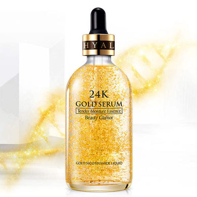24K Gold Tense Moisture Essence Anti-wrinkle Gold Nicotinamide Liquid Skin Care Essence