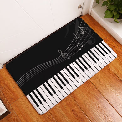 Doormat Carpets Creative Notes Print Mats Floor Kitchen Bathroom Rugs 40X60or50x80cm