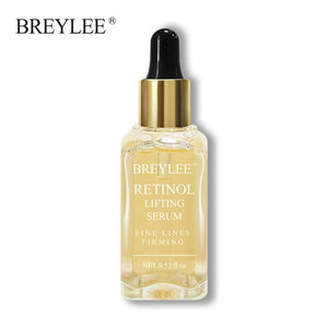 BREYLEE serum series Hyaluronic acid Rose nourishing Vitamin c whitening Retinol firming 24k gold Soothing repair face care 1pcs