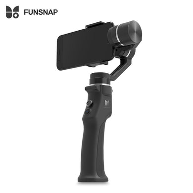 FUNSNAP Capture 3-axis Handheld Brushless Gimbal Stabilizer iPhone X 8 7 Plus Samsung S8 Huawei Xiaomi Smartphone