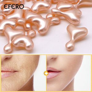 EFERO 24k Gold Anti Wrinkle EGF Ampoule Capsule Face Cream Whitening Day Cream Anti Aging Serum Lifting Moisture Skin Care 5pcs