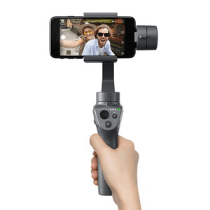 Original DJI OSMO Mobile2 Handheld Gimbal Stabilizer 3-Axis Motionlapse Zoom Control Bluetooth Timelapse Panorama for Smartphone