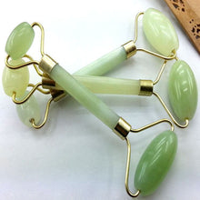 Load image into Gallery viewer, Kanbuder Double Head Facial Massage Roller Jade Face Slimming Body Head Neck Nature  8m19