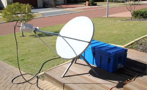 1.2m VSAT Antenna System Rapid Deployment - Skybeam Communications