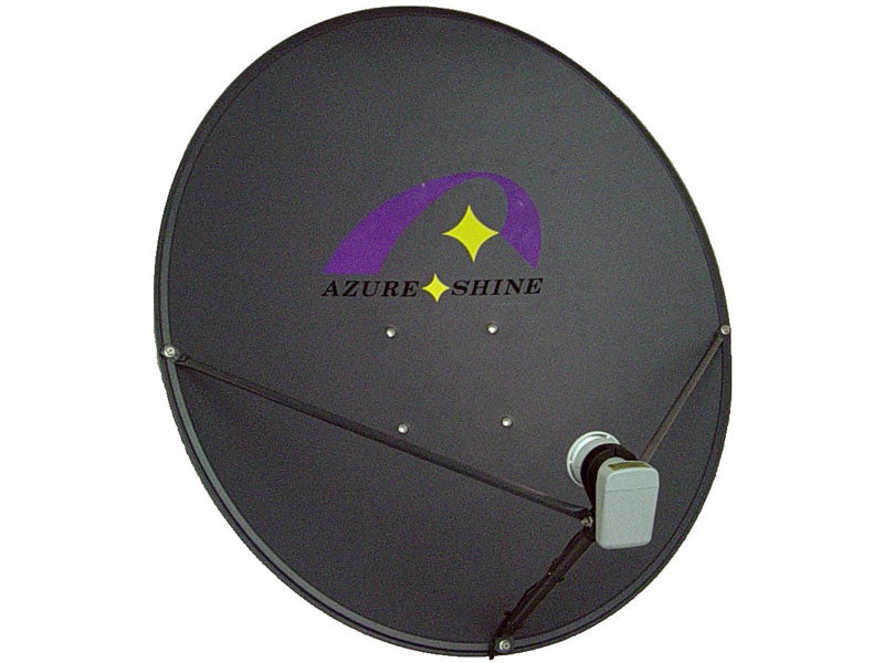 Azure Shine 90cm offset satellite dish boxed - Skybeam Communications