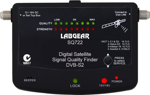 Labgear SQ722 Digital Satellite Meter - Skybeam Communications