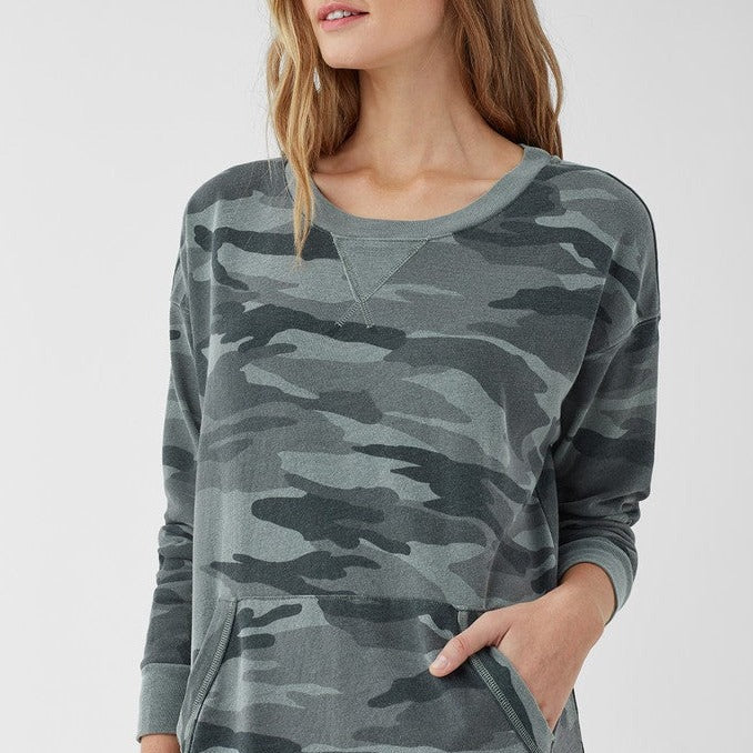 Splendid Camo Courtside Dress