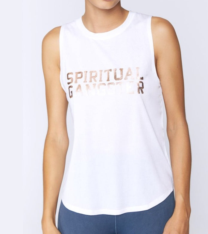 Spiritual Gangster Active Muscle Tank