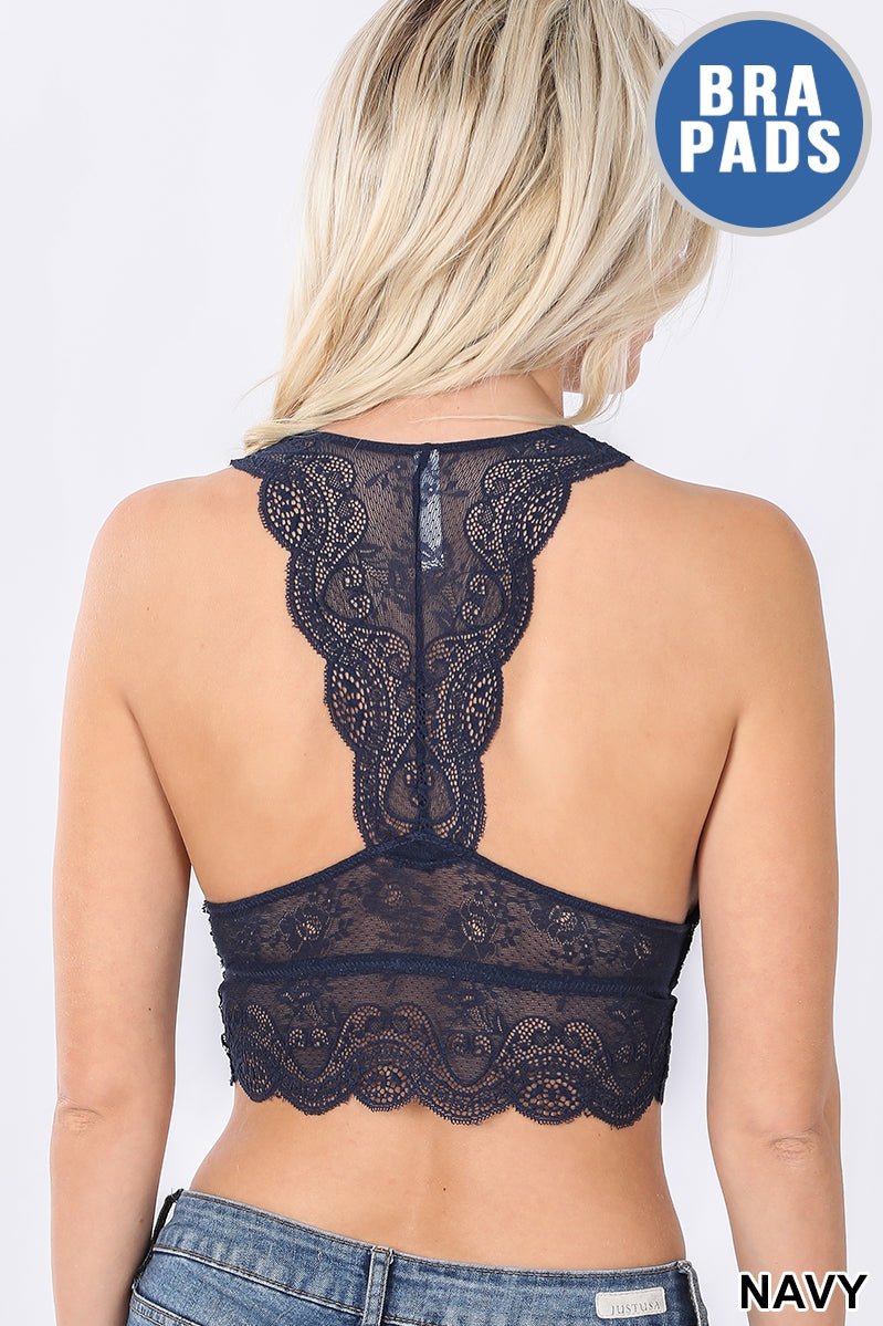 Plus Stretch Lace Hourglass Bralette