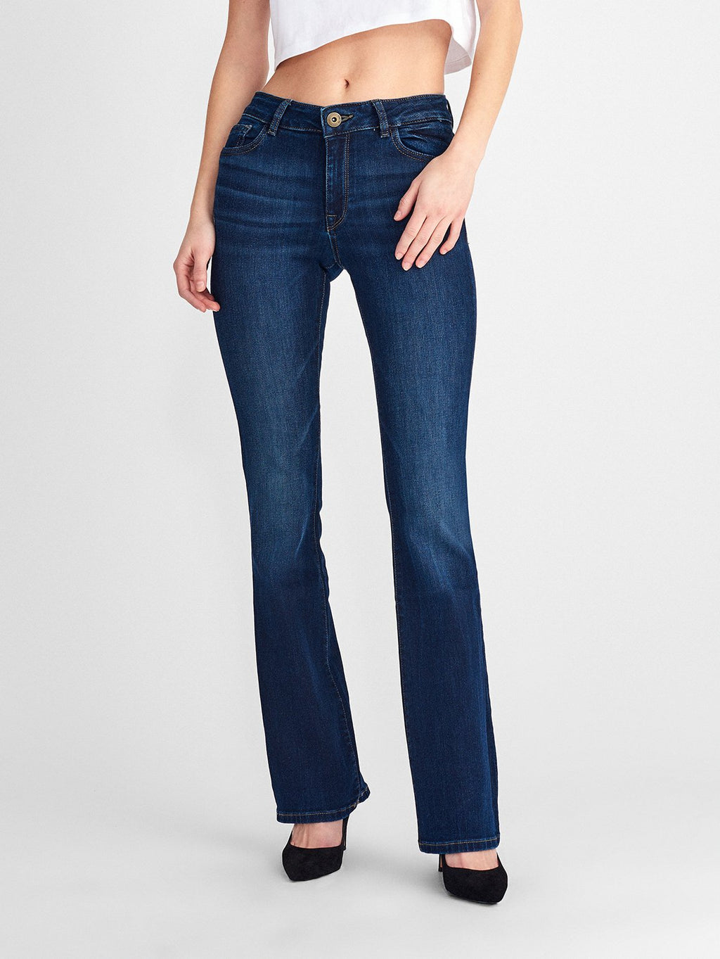 DL1961 Bridget High Rise Instasculpt Bootcut