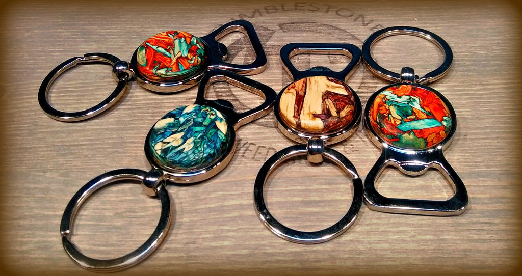 Handcrafted from Tumbleweed - Tumbleweed Keychain