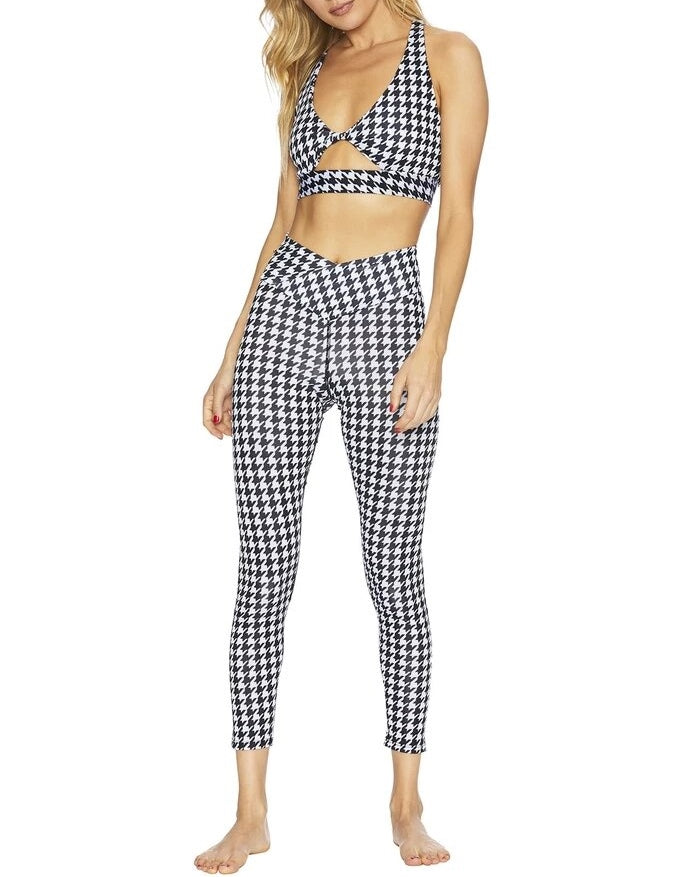 Beach Riot Cara Houndstooth Legging