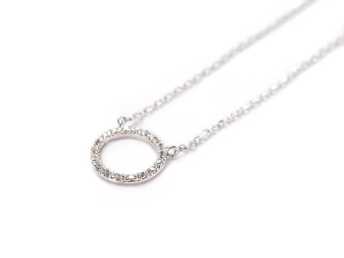 Adorn 512 - Pave Karma Necklace