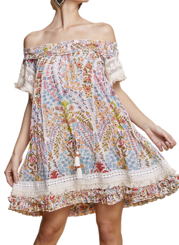 Band of Gypsies Violet Mini Dress