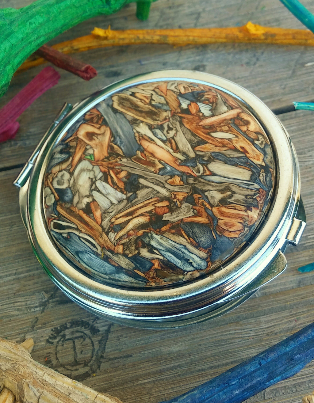 Handcrafted from Tumbleweed - Tumbleweed Mirror Compact