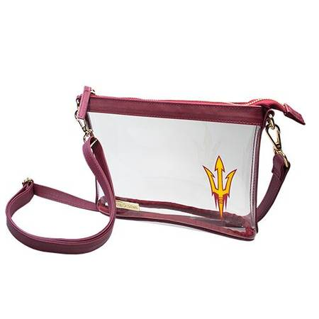 Capri Designs-Small Crossbody Collegiate Licensed ASU