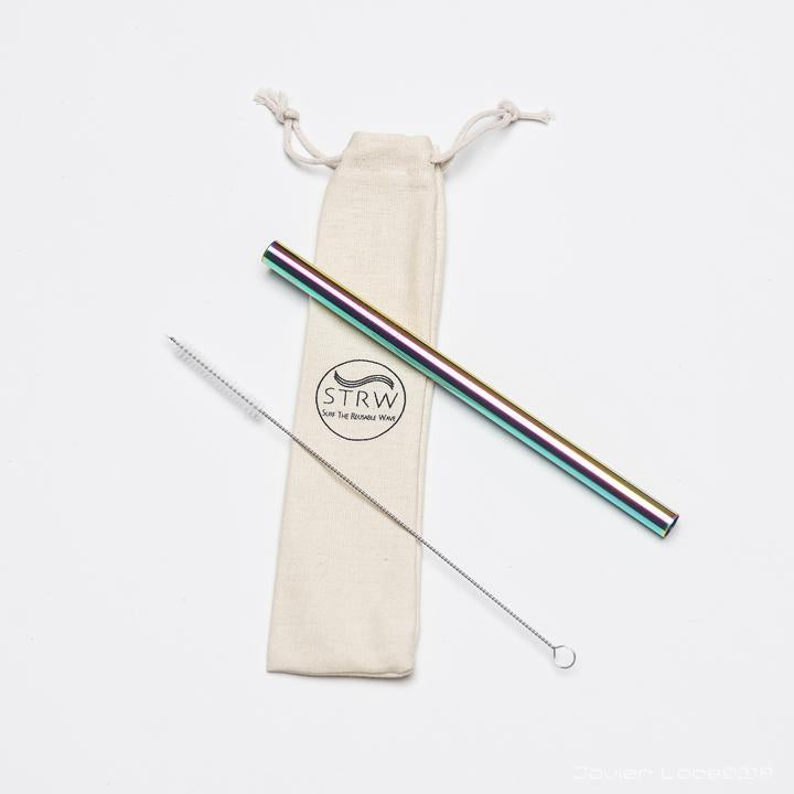 STRW Co. - Reusable Smoothie Steel Straw