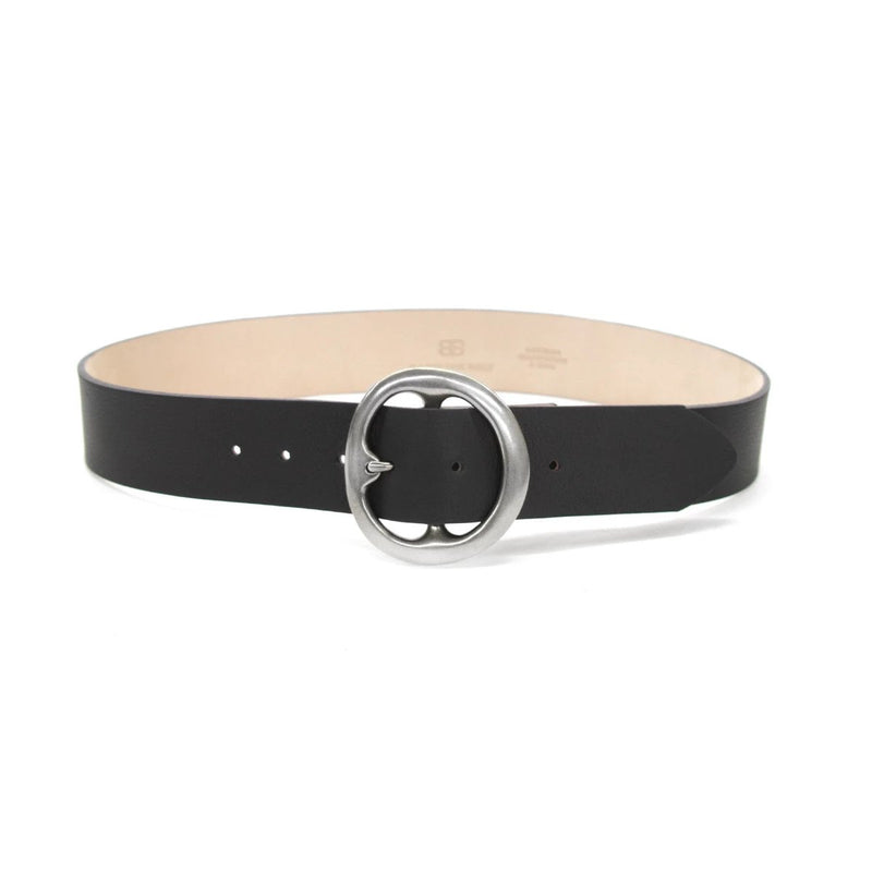 "B-LOW THE BELT BELL BOTTOM SMOOTH-1.75"" strap/2.75"" buckle"