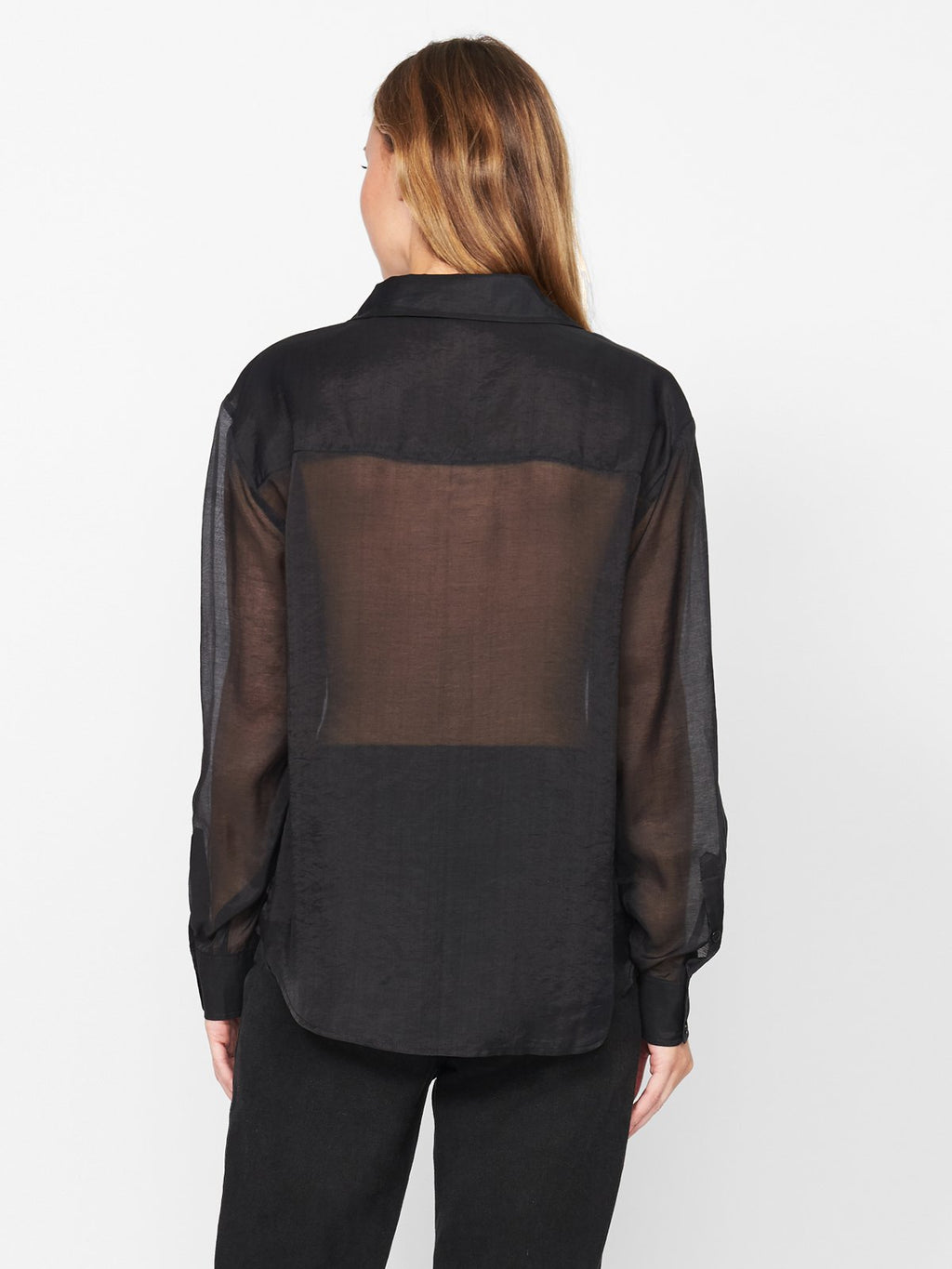 Sanctuary Sheer Bliss Button Down