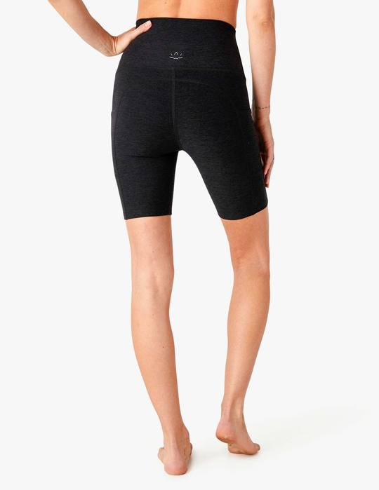 Beyond Yoga Spacedye Team Pockets High Waisted Biker Short