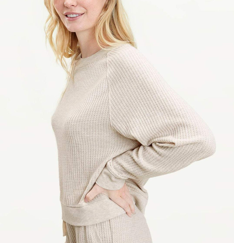 Splendid Firestone Crew Neck Sweater Top