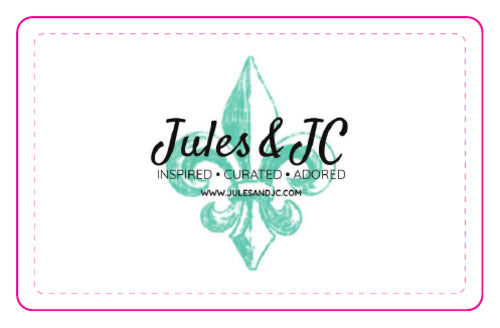 Jules & JC Gift Card