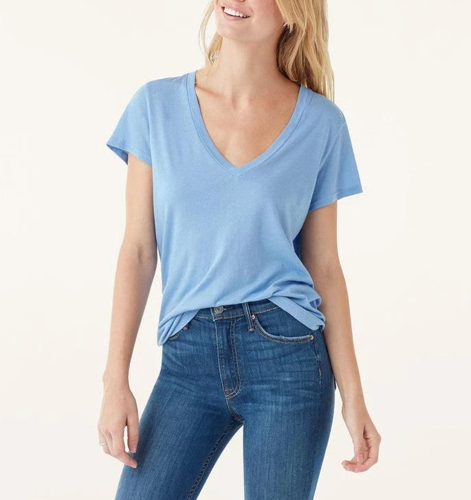Splendid Kate V-Neck Tee