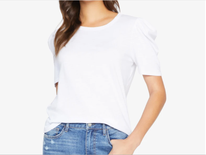 Sanctuary Pleated Sleeve Tee