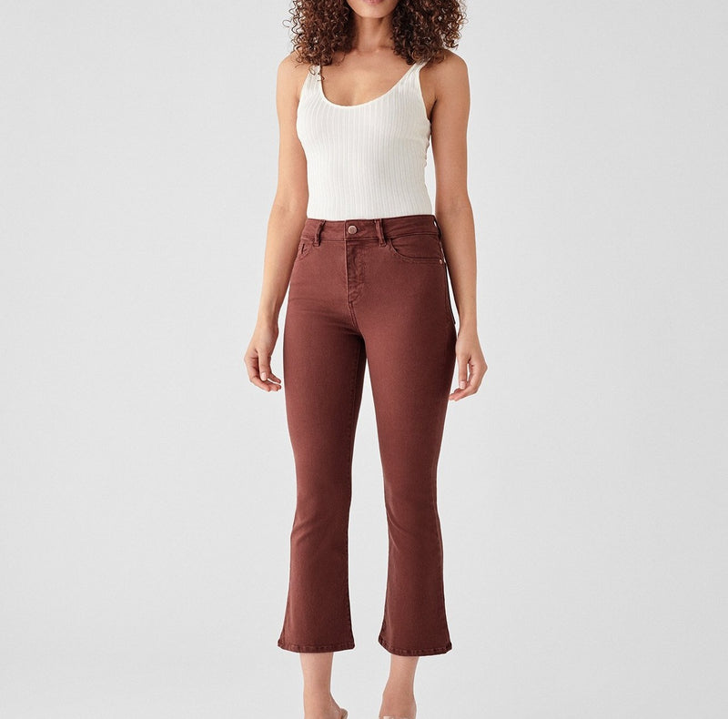 DL1961 Bridget Cropped High Rise Instasculpt Bootcut