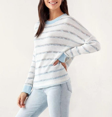 LUSH Fuzzy Crew Neck Sweater
