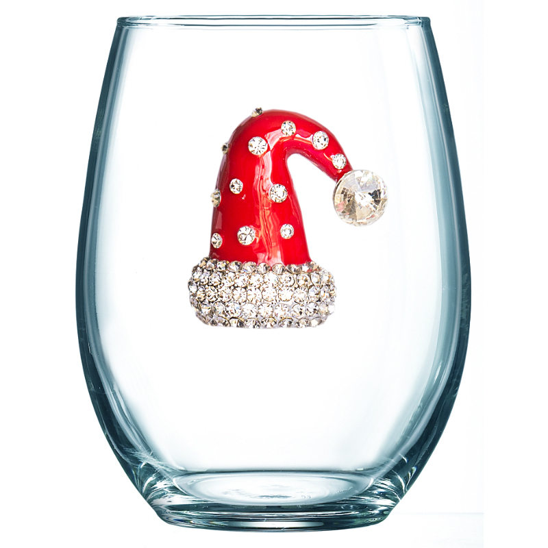 Holiday Stemless Wineglass Collection