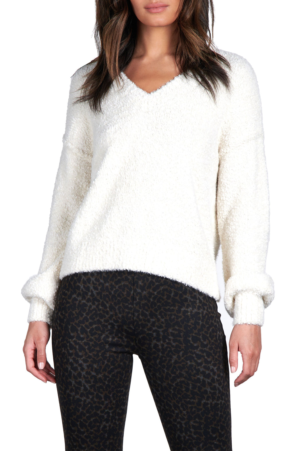 Sanctuary V-Neck Cozy Sweater