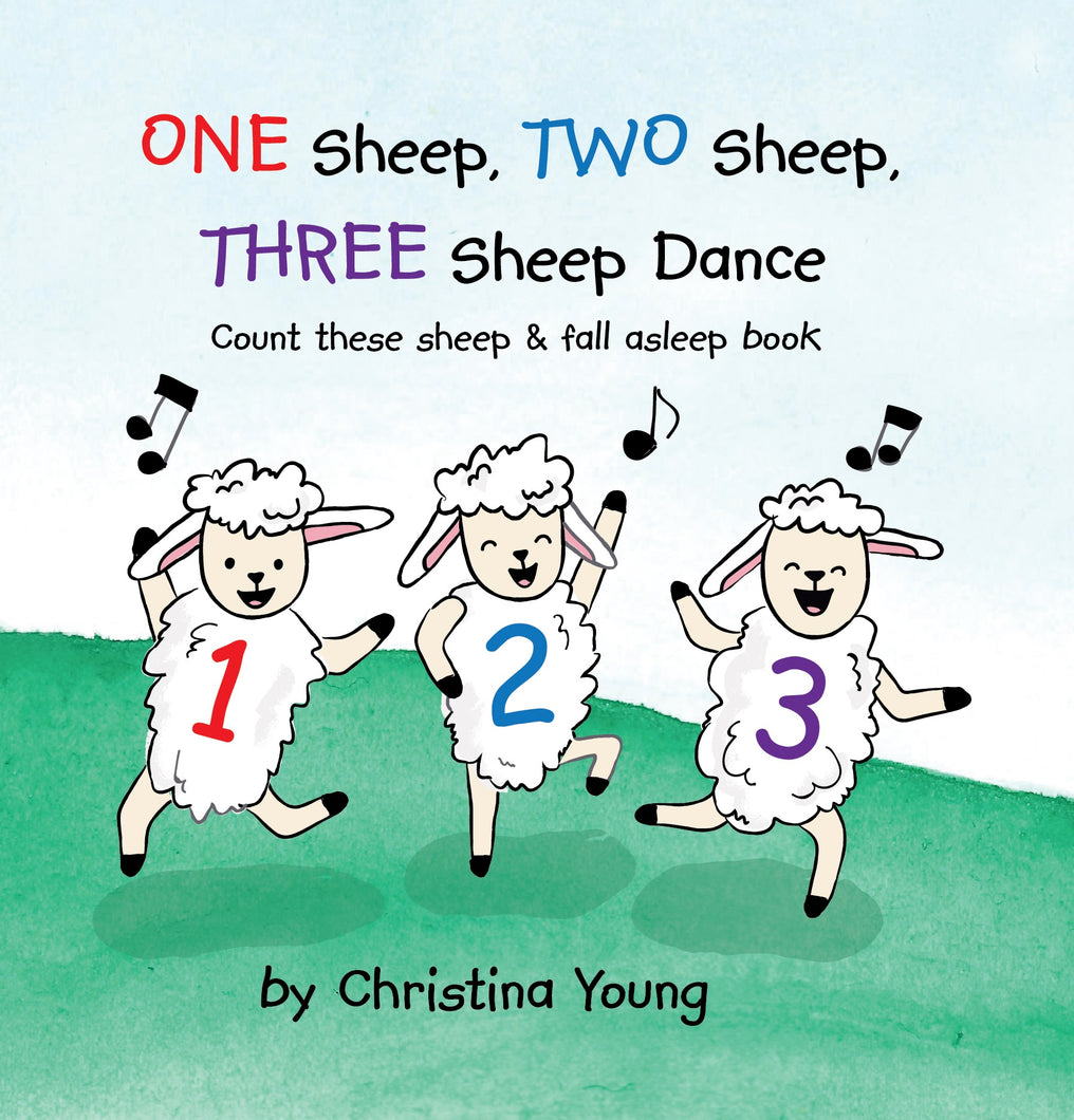 One Sheep, Two Sheep, Three Sheep Dance  *30 Books Per Carton WHOLESALE*