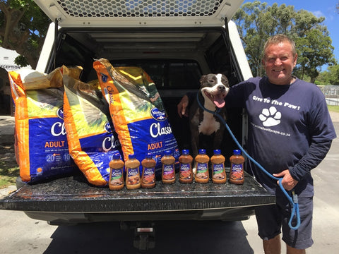 BeanBagTheBrand donates to shelter dogs