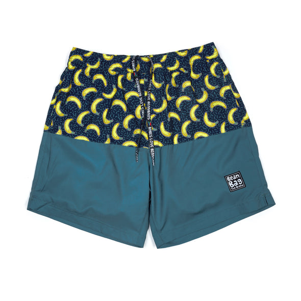 GOING BANANAS - 2 IN 1 Active Shorts Bros - BeanBagTheBrand