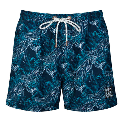 WHALE OF A TIME - Swim Shorts Bros - BeanBagTheBrand